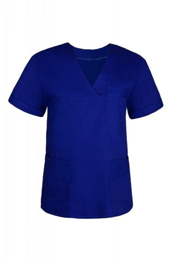Bluza medyczna damska granatowa