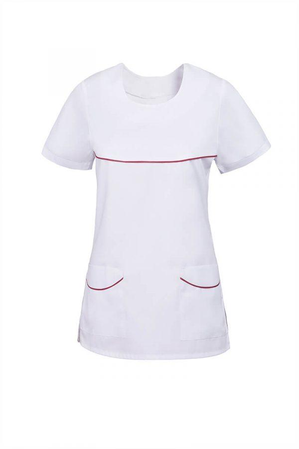Bluza medyczna W20a - krótkie rękawy