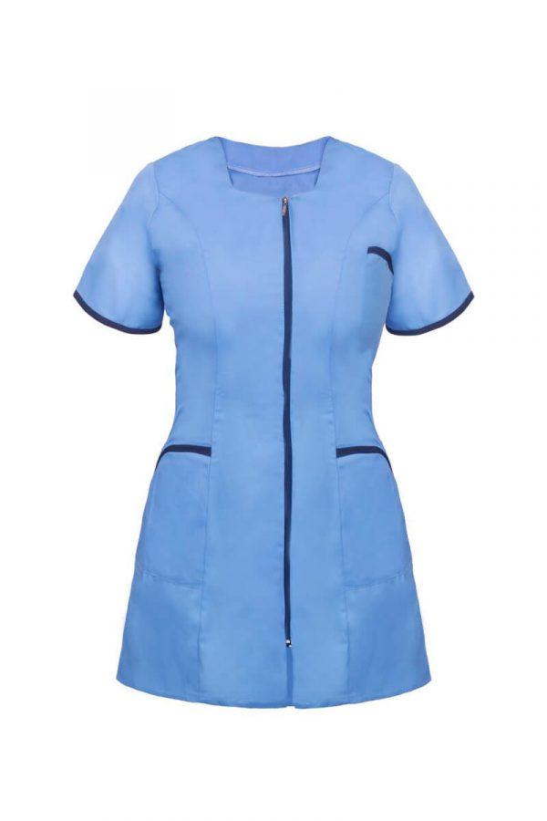 Tunika medyczna damska z krótkim rękawem