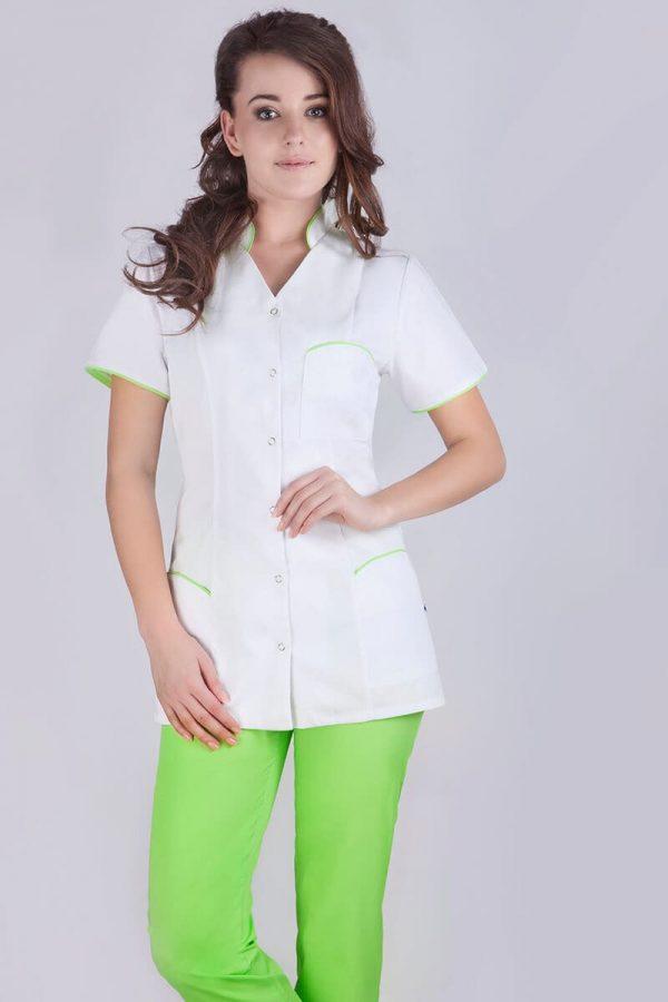 Żakiet medyczny biały - damski
