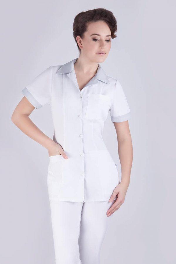 Żakiet medyczny biały - Anilon