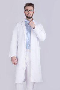 Fartuch medyczny męski W22