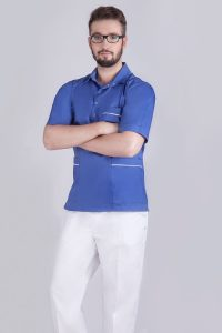 Komfortowe ubranie fizjoterapeuty- bluza i spodnie